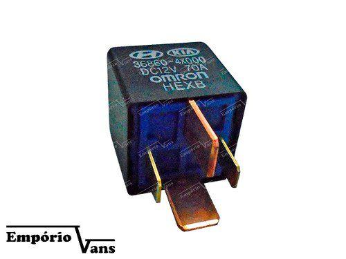 Rele Vela Aquecedora Hyundai Hr 2.5 8v Até 2011