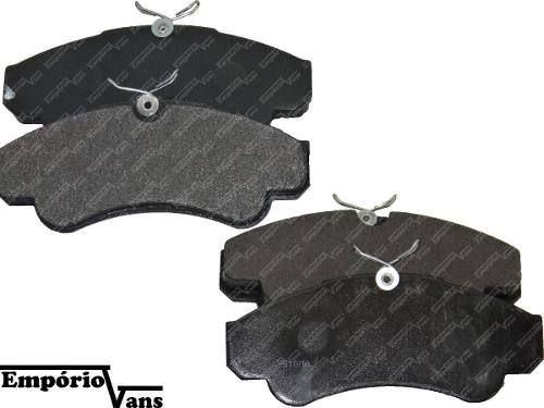 Pastilha Freio Diant. Ducato Boxer Jumper 2.3/2.8 R16 C/mola