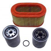 Kit Filtro Ar Oleo Combustível Hyundai Hr 2.5 8v Até 2012