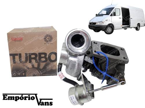 Turbina Do Motor Mercedes Sprinter 310 Nova Original Garrett