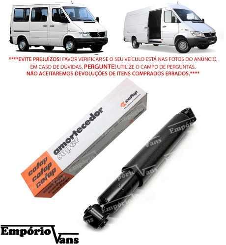 Amortecedor Traseiro Sprinter 310 311 312 313 Cofap Super