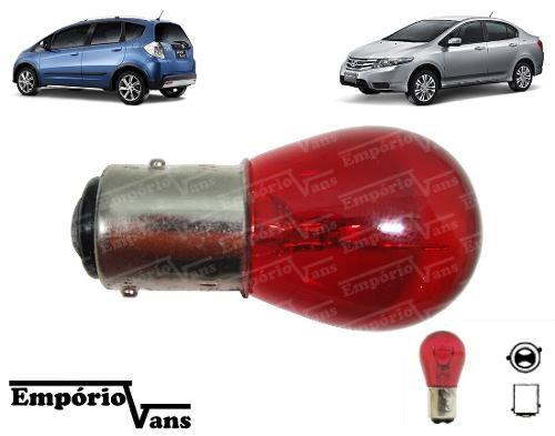 Lâmpada Vermelha Luz Freio Honda Fit City V Desencontrado