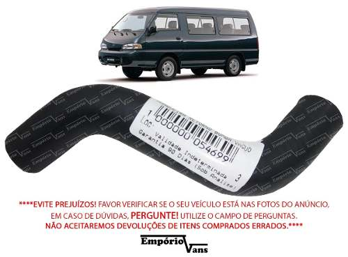 Mangueira Retorno Bomba Vacuo Hyundai H100