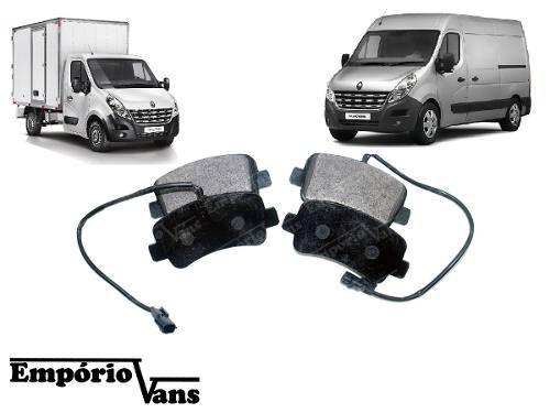 Pastilha Freio Traseiro C/ Sensor Renault Master 2.3 13/...