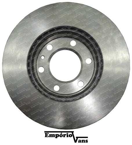 Par Disco Freio Ventilado S/ Cubo Sprinter 311 313 415 515 12/..