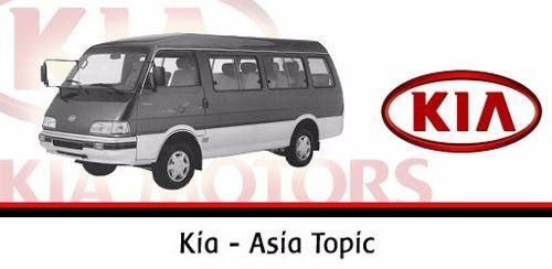 Guia Porta Salão Corre Inferior Asia Topic Kia Besta 2.2 2.7