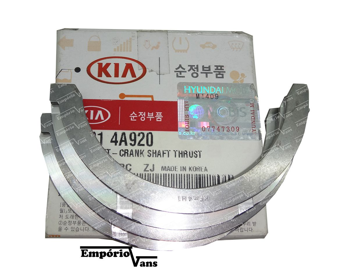 Arruela Encosto STD Kia K2500 Sorento Hyundai HR