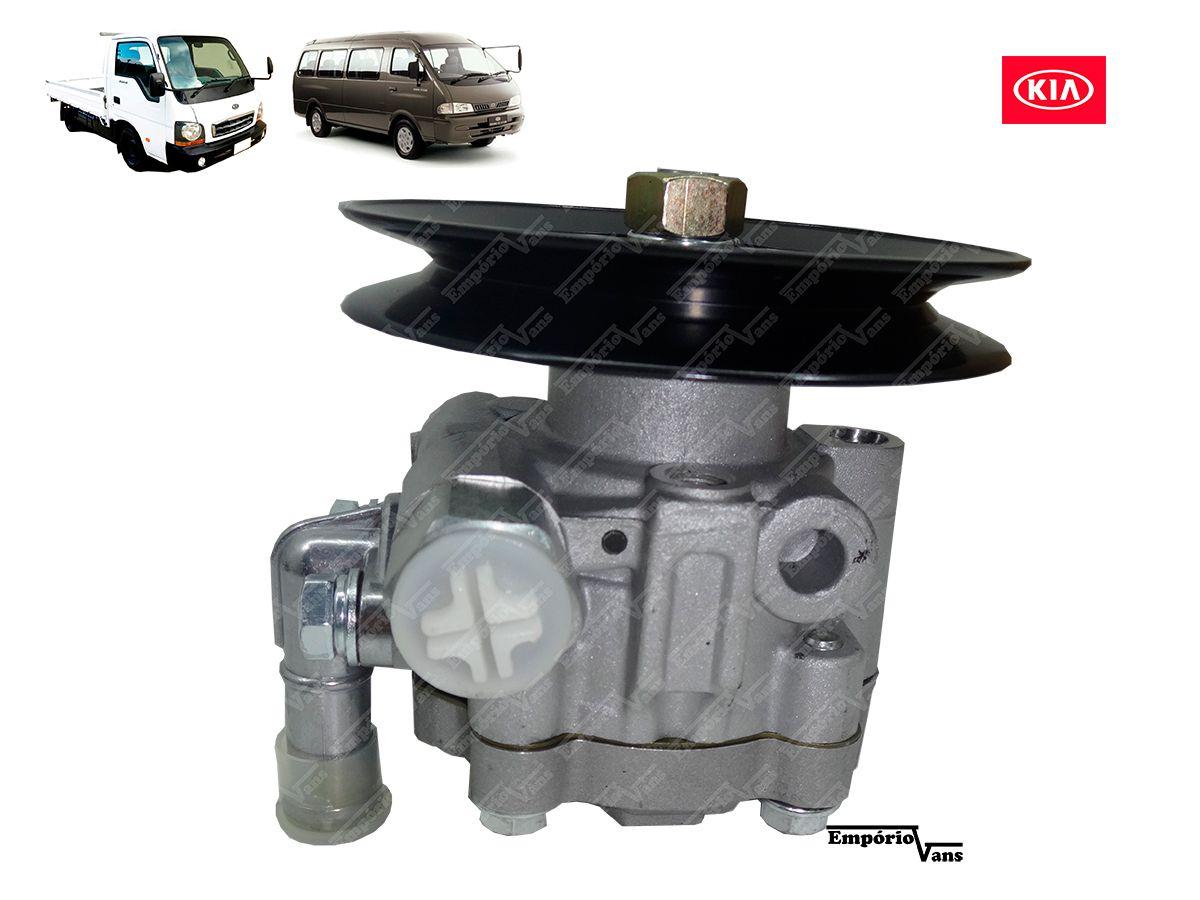 Bomba Direcao Hidraulica Kia K2700 Besta Gs 2 7 3 0