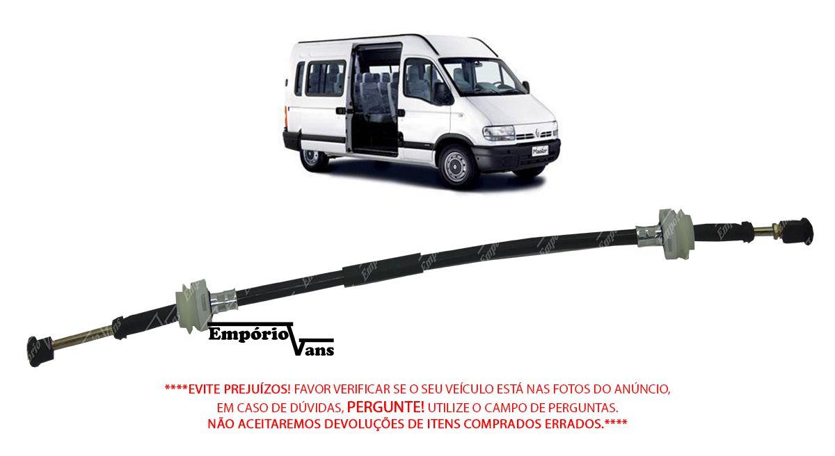 Cabo Seletor 1040MM 960MM Renault Master 2.8 2000/2005