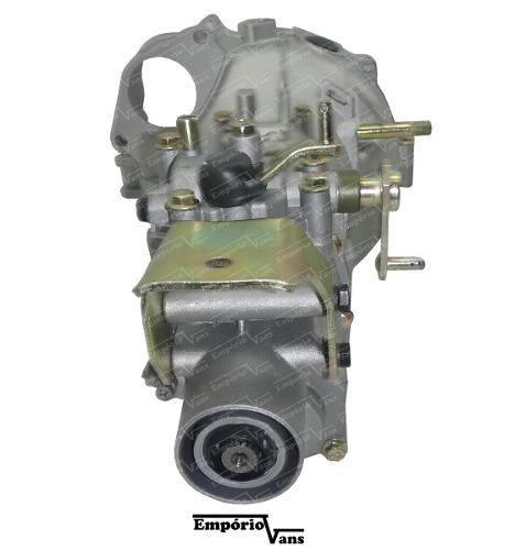 Caixa Transmissão Cambio Towner Jr Effa Bs09 + Kit Embreagem