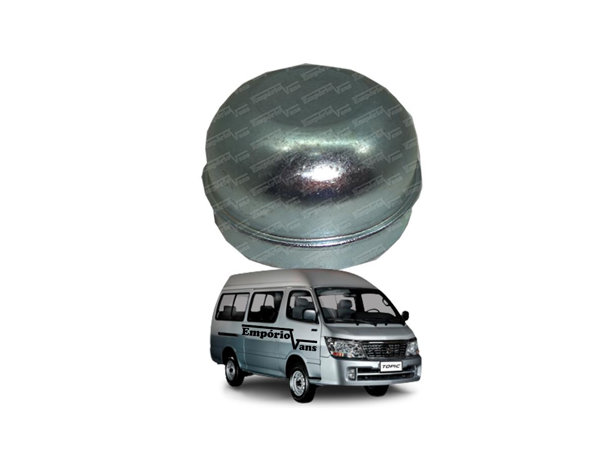 Calotinha Cubo Calota Roda Dianteira - Topic Jinbei