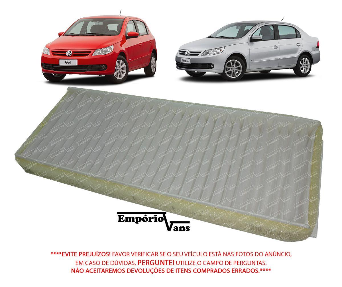 Filtro Ar Condicionado Volkswagen Gol Voyage G5 2010 Em Diante