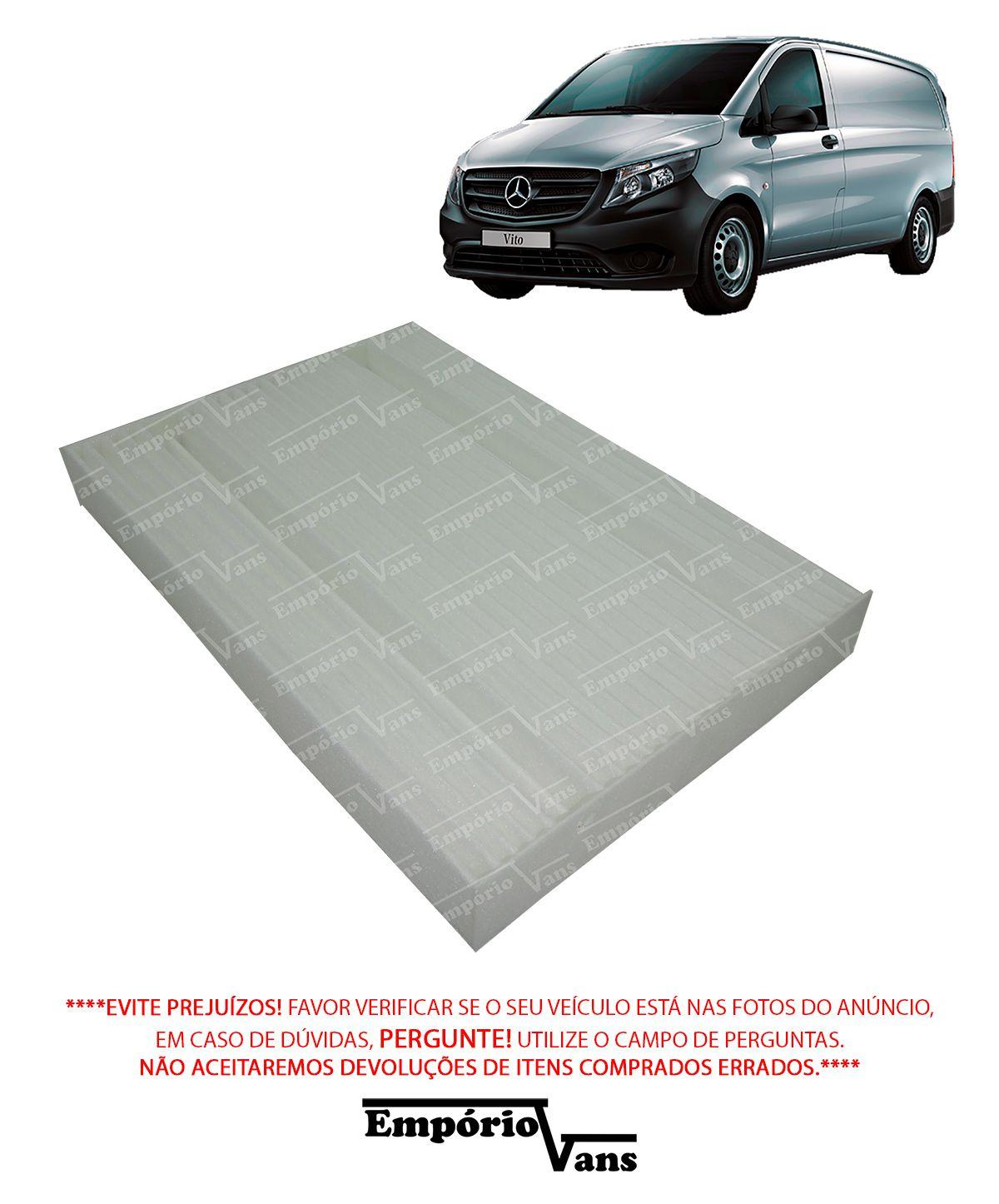 Filtro Cabine Ar Condicionado Mercedes Vito 111 1.6 CDI