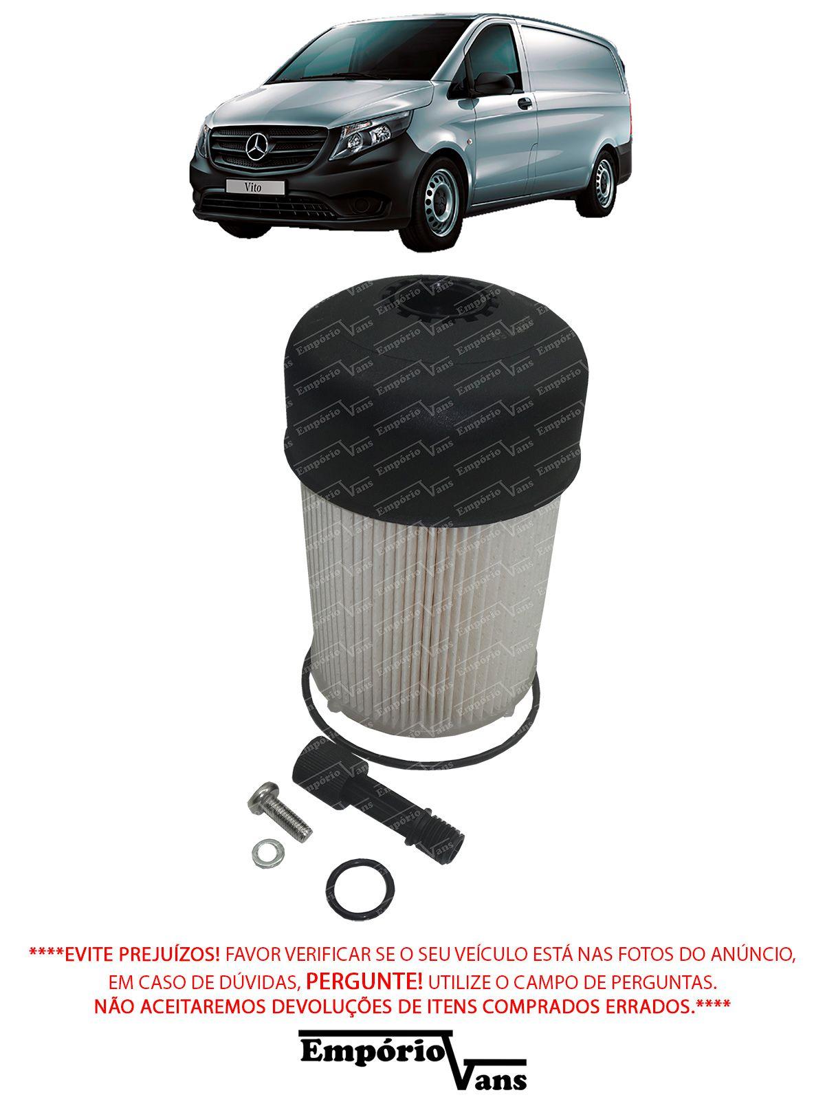 Filtro Combustivel Mercedes Vito 111 1.6 CDi
