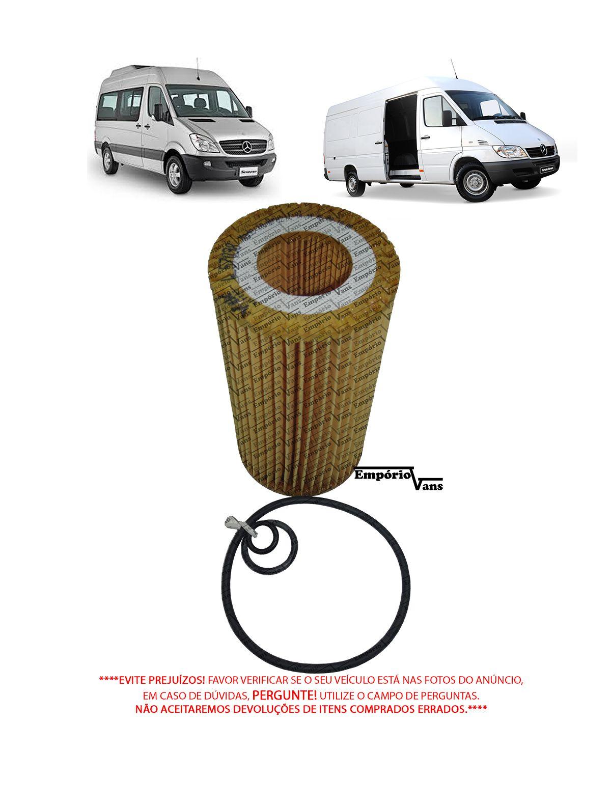 Filtro Oleo Mercedes Sprinter 311 313 415 515