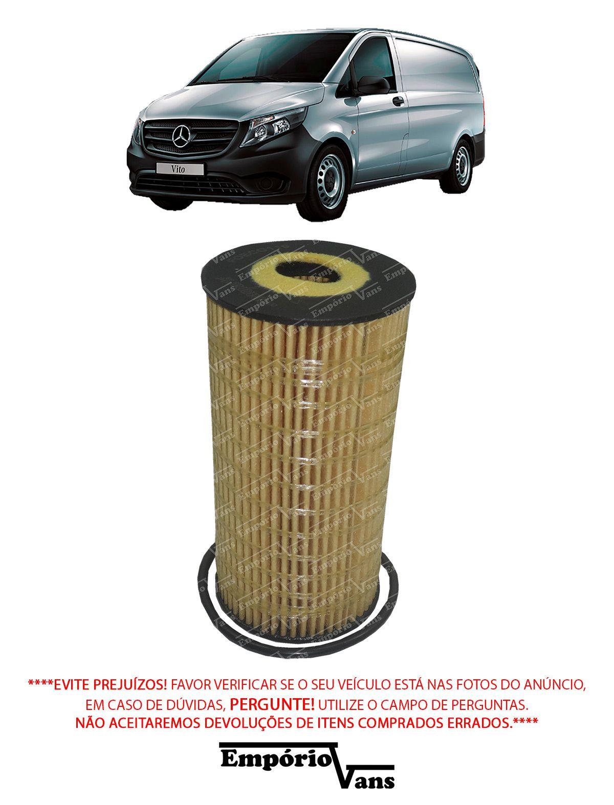 Filtro Oleo Renault Master 2014 Mercedes Vito 111 1.6 CDI