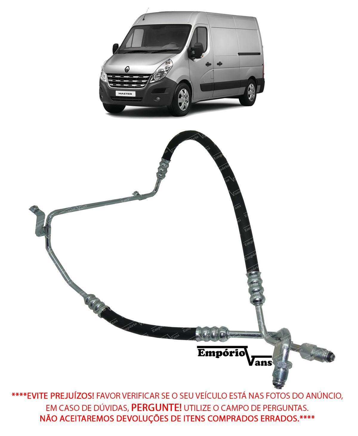 Flexivel Direçao Hidraulica Renault Master 2.5 2.8