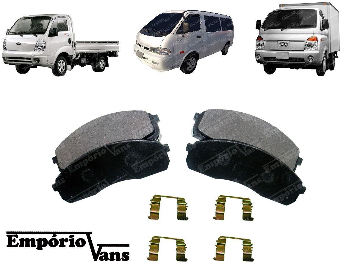 Kit Alinhador E Pastilha De Freio Hyundai Hr Besta Gs K2500