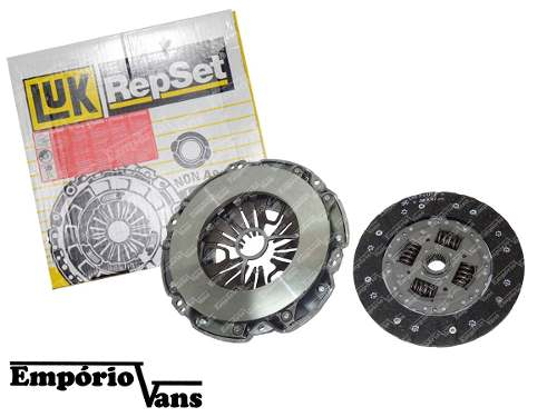 Kit De Embreagem C Atuador Sprinter 311 415 515 2012-16 Luk