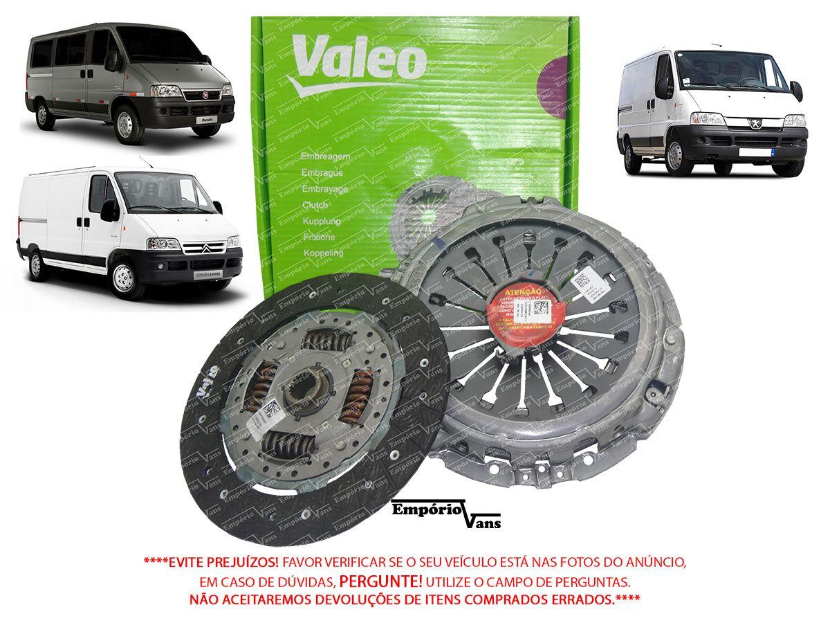 Kit Embreagem Fiat Ducato 2.3 Multijet Original Valeo 232528