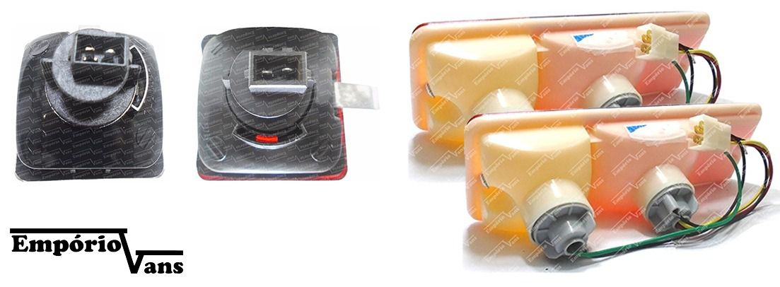 Kit Lanterna Towner Jr Hafei Effa Start Pickup Completa