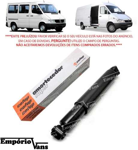 Kit Par Amortecedor Diant Tras Sprinter 310 311 12 313 Cofap