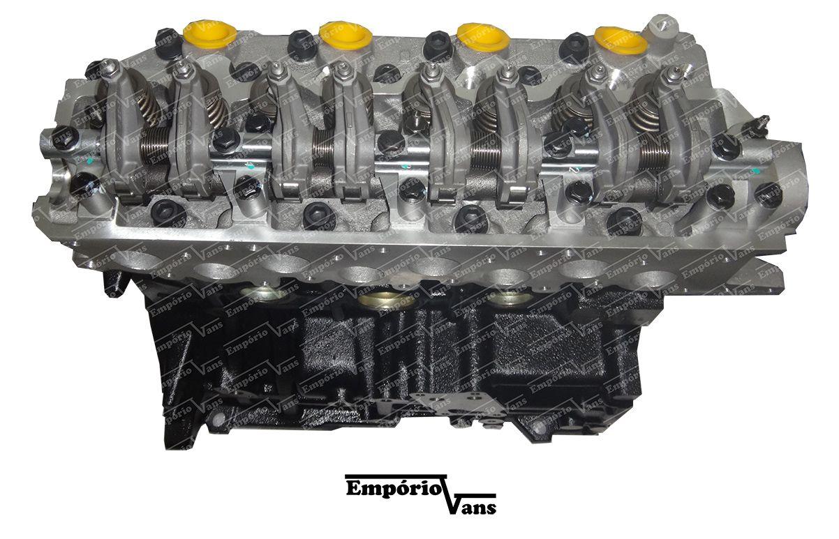 Motor Completo Hyundai Hr Kia K2500 Até 2012 2.5 8v Novo