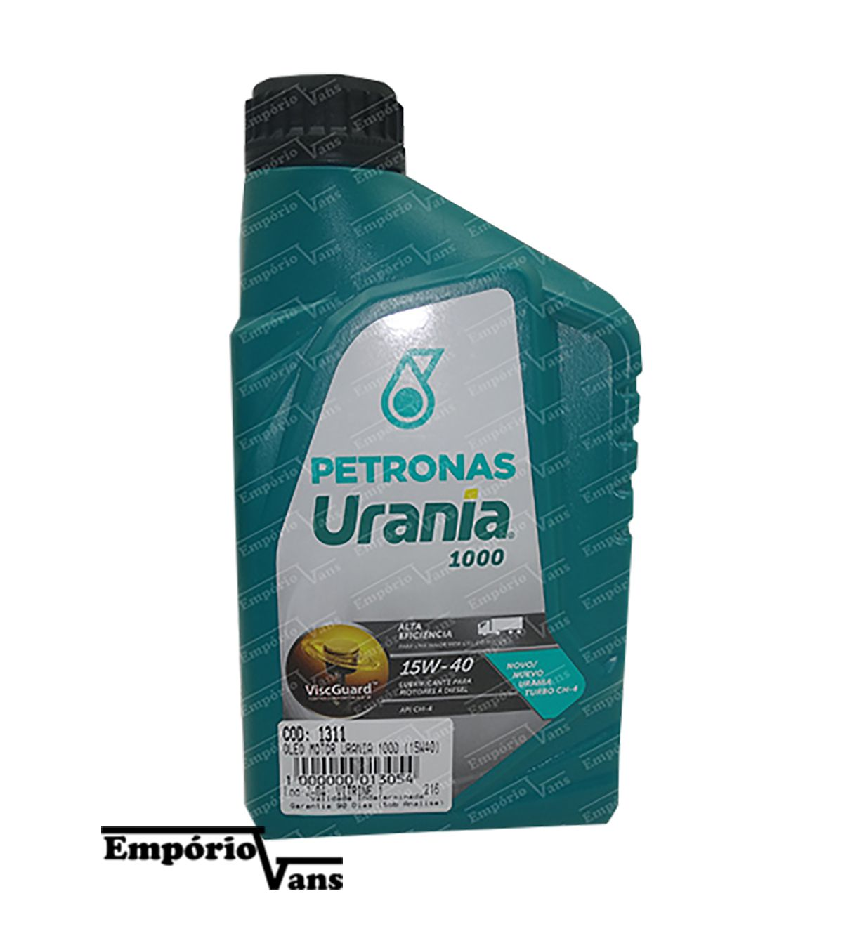 Oleo Motor Urania 1000 15W40 Petronas Universal