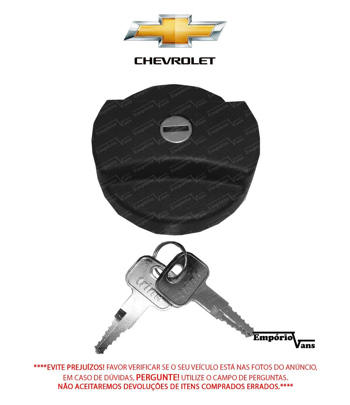 Tampa Combustivel Com Chave Chevrolet Diversos