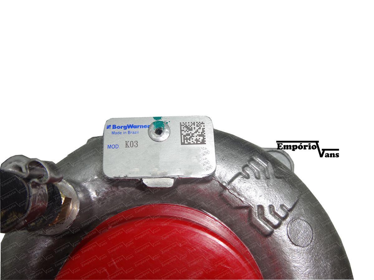 Turbina Completa Ducato Boxer Jumper 2.3 Multijet Borgwarner