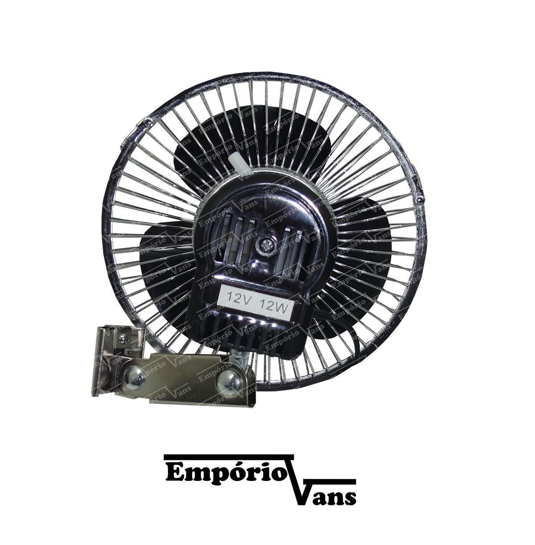 Ventilador Automotivo 15 CM 12V Veiculos Diversos