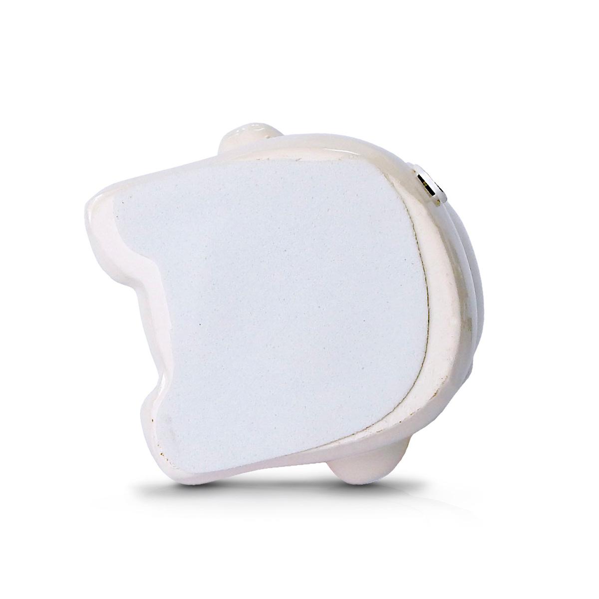 Abajur Infantil Urso 31cm Base Ceramica E-27 Max 40w