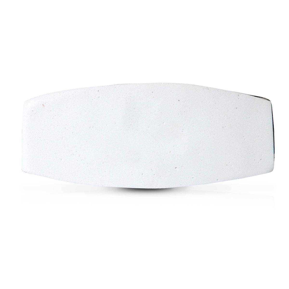 Abajur Oka 51cm Base Ceramica Preta E-27 Max 40w Cupula Tecido Preto