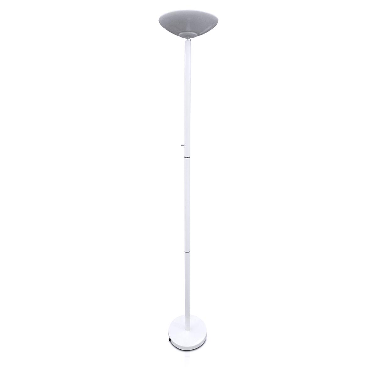 Coluna Luminaria Fixa Decorativa Branca