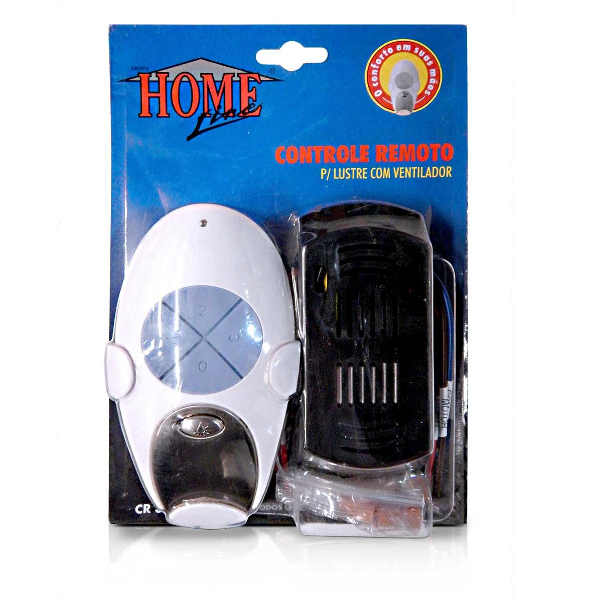 Controle Remoto Universal Para Ventilador De Teto Home Line