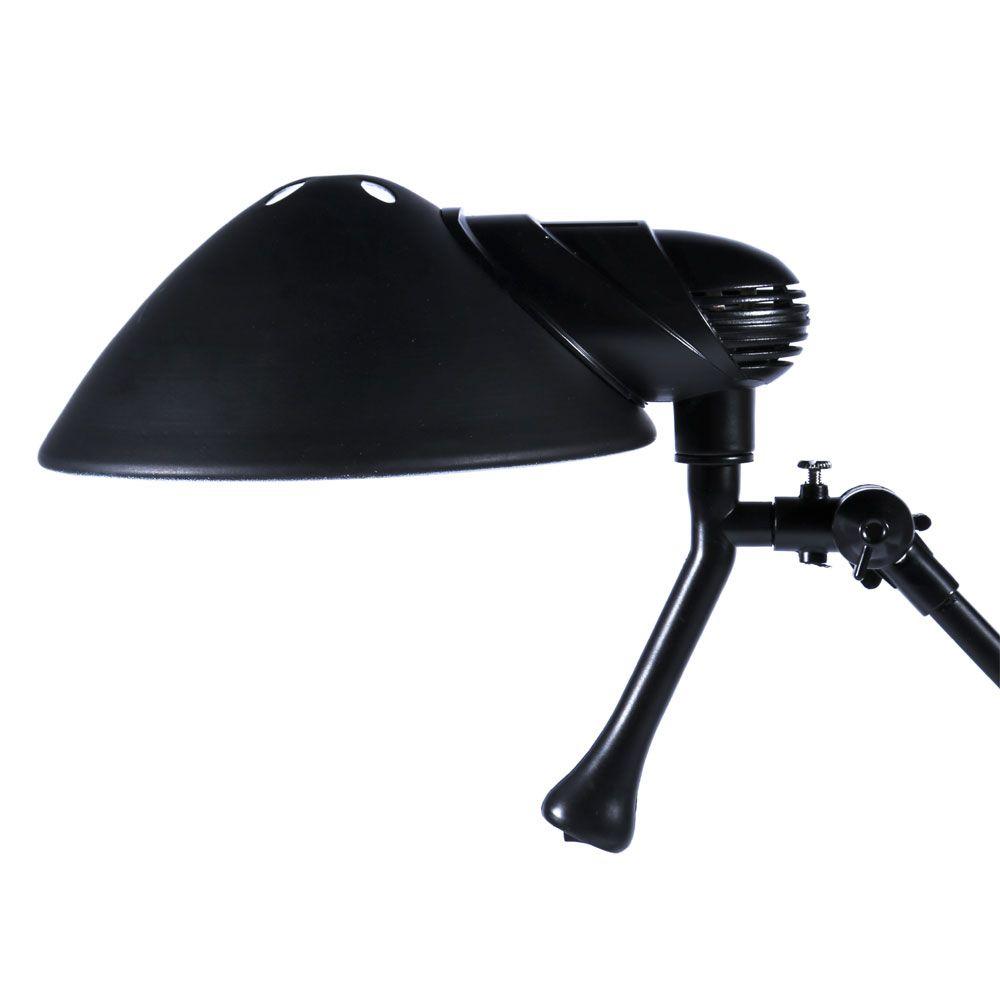 Luminaria De Mesa Scandal E-27 Max 40w Preta