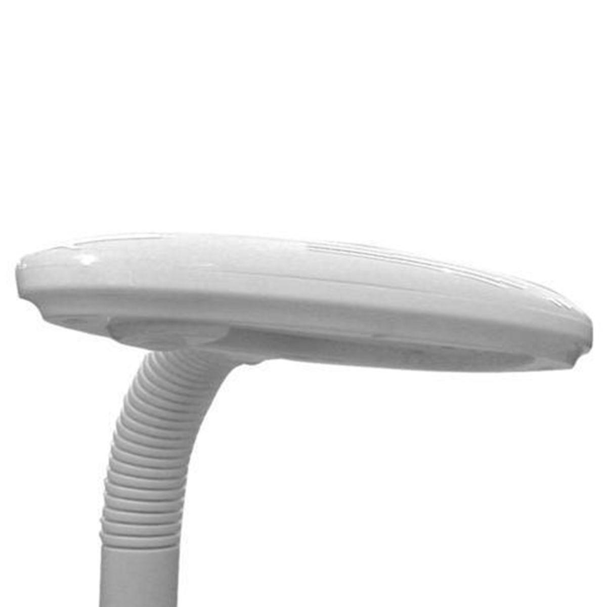 Luminaria de Mesa Dog Branco Polietileno 1X9W 127V