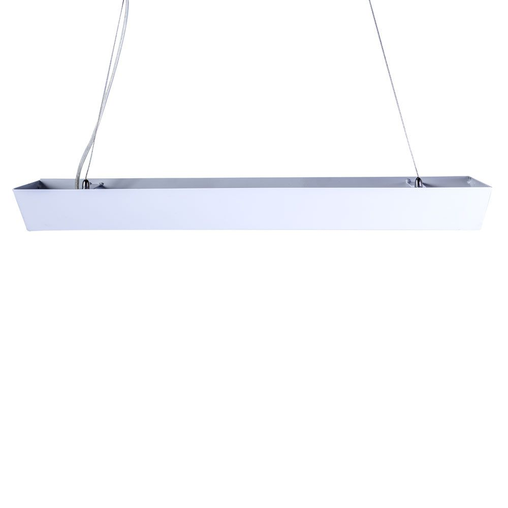 Pendente Space Triangular Aluminio E-27 2 Lamp. Max 60w Escovado