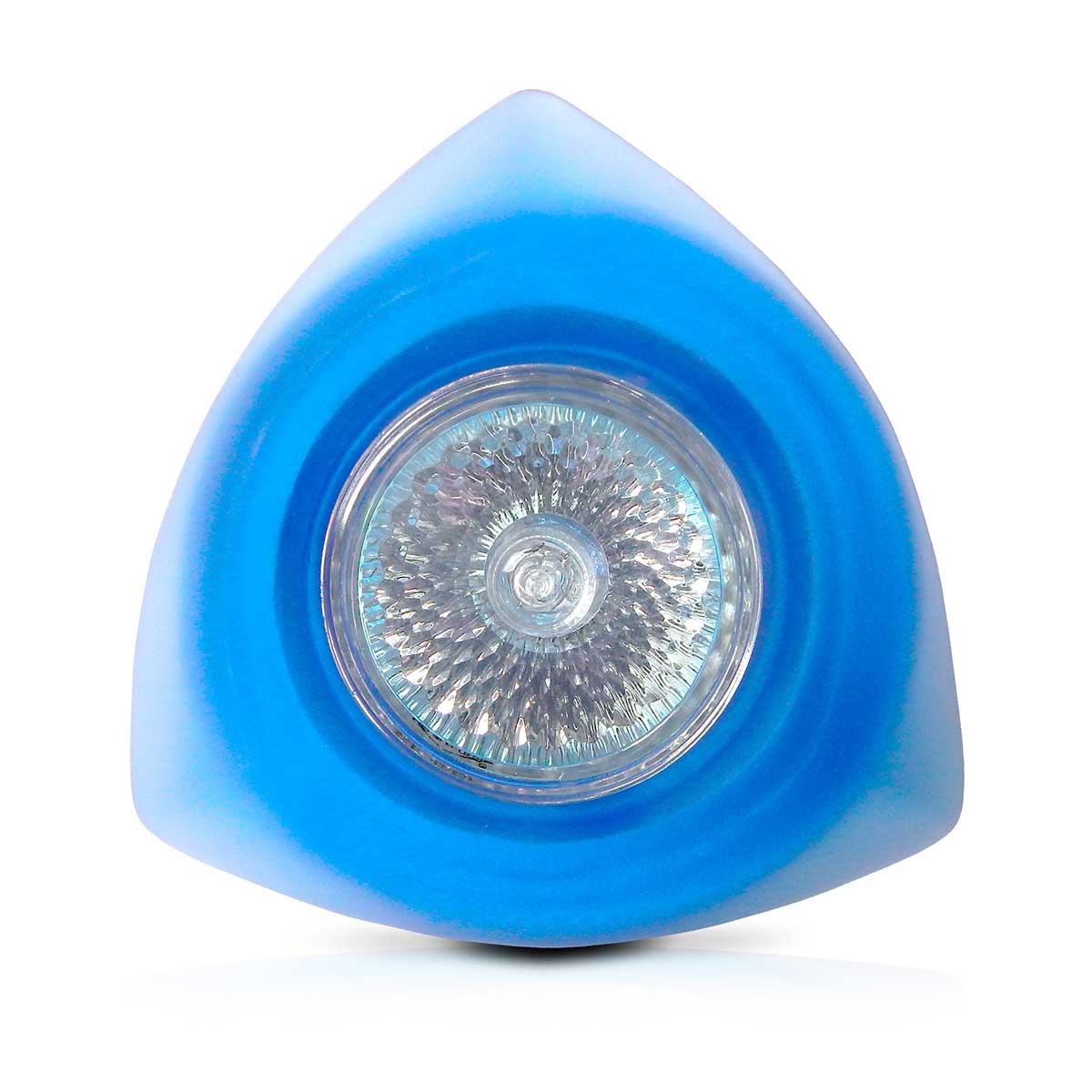 Spot Dicroica Vidro Triangular (Com Lampada)