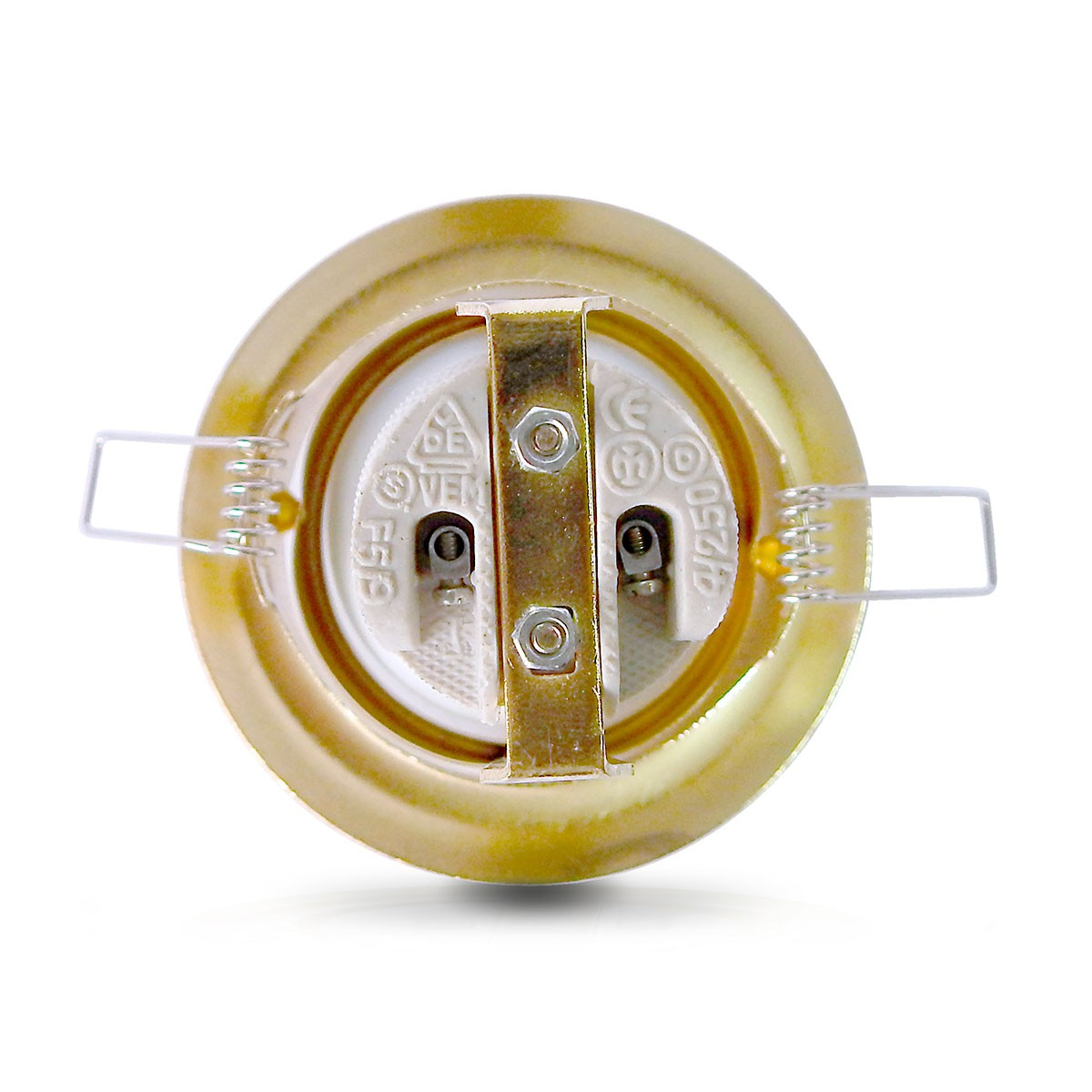 Spot Embutido Dirigivel E-27 Vertical (Com Lampada Spot) 05 Unidades