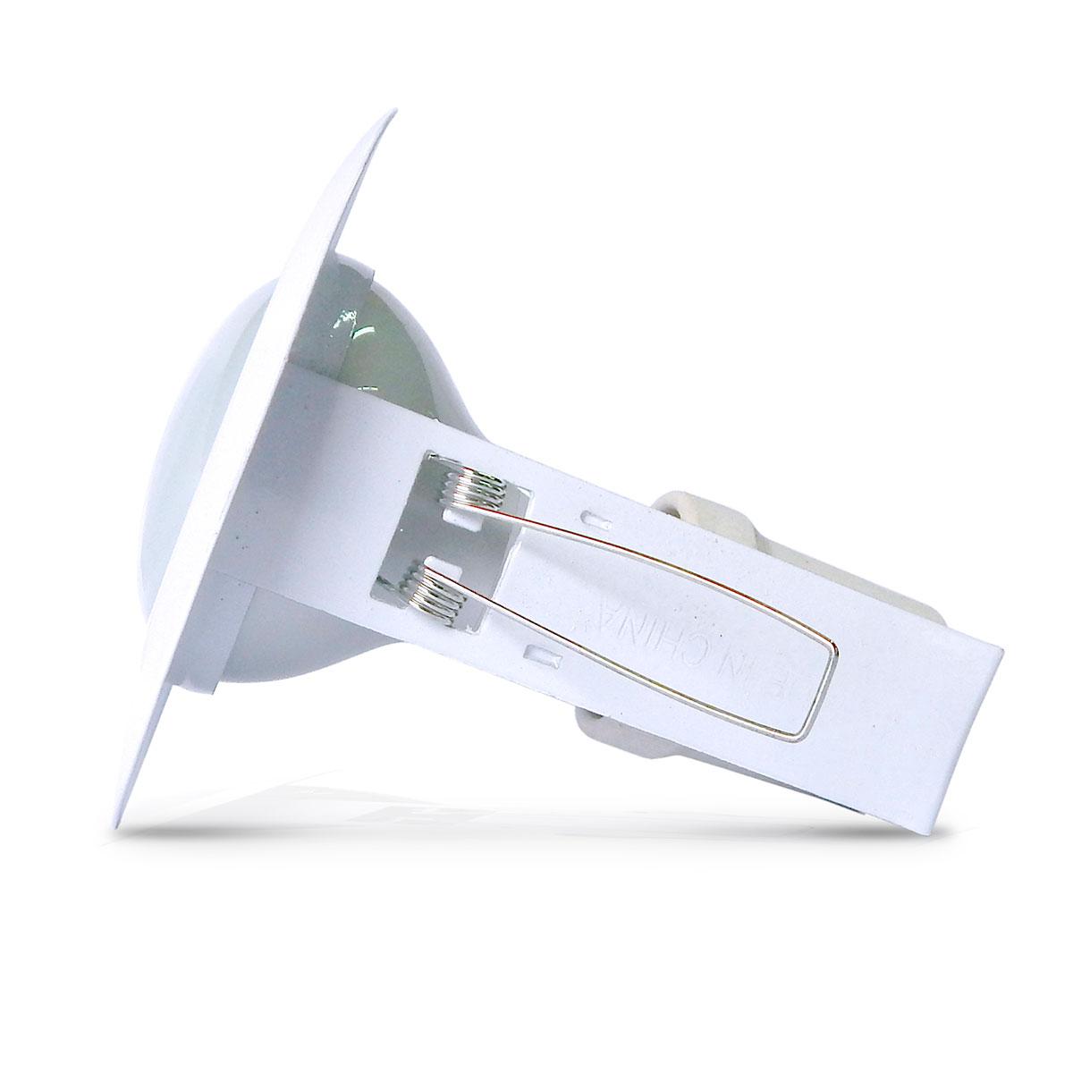 Spot Embutido Fixo E-27 Vertical (Com Lampada Spot)