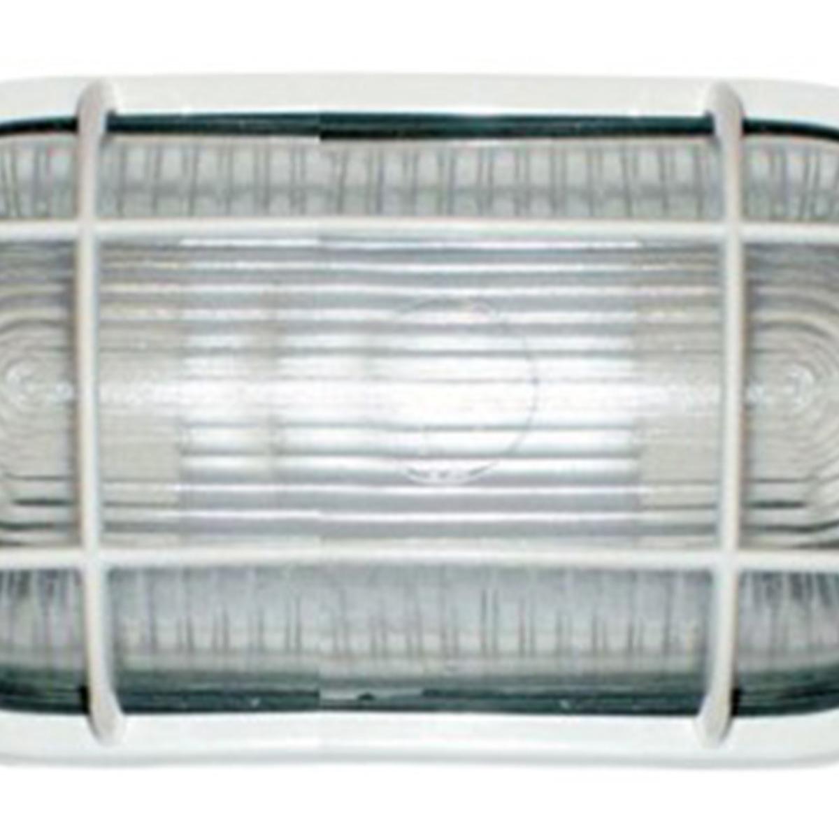 Tartaruga Oval 20cm Aluminio Pint. Epoxi E-27 1 Lamp. Max 60w C/ Grade Branca