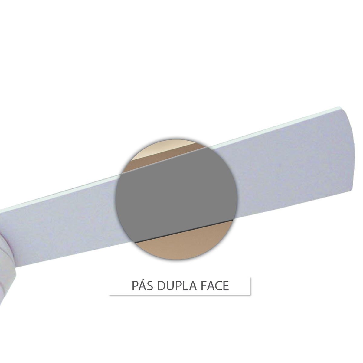 Ventilador Hl-60 Cont. Parede 1 Lamp. E-27 3 Pas Rev. (Branco / Cinza) Branco