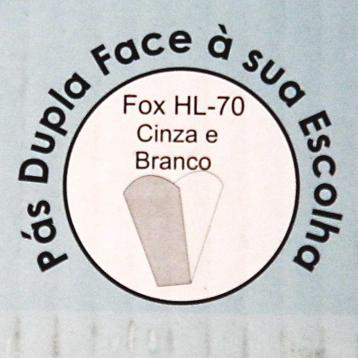Ventilador Hl-70 Com Controle De Parede 2 Lampadas E-27 3 Pas Dupla Face (Branco/Cinza) 110v