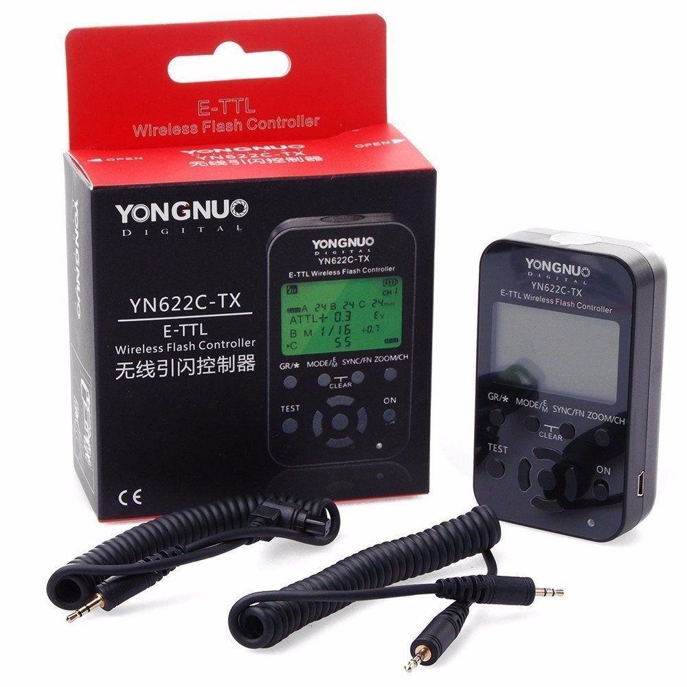 Radio Flash Sem Fio Yongnuo Yn-622 Tx Para Canon Yn622 Tx
