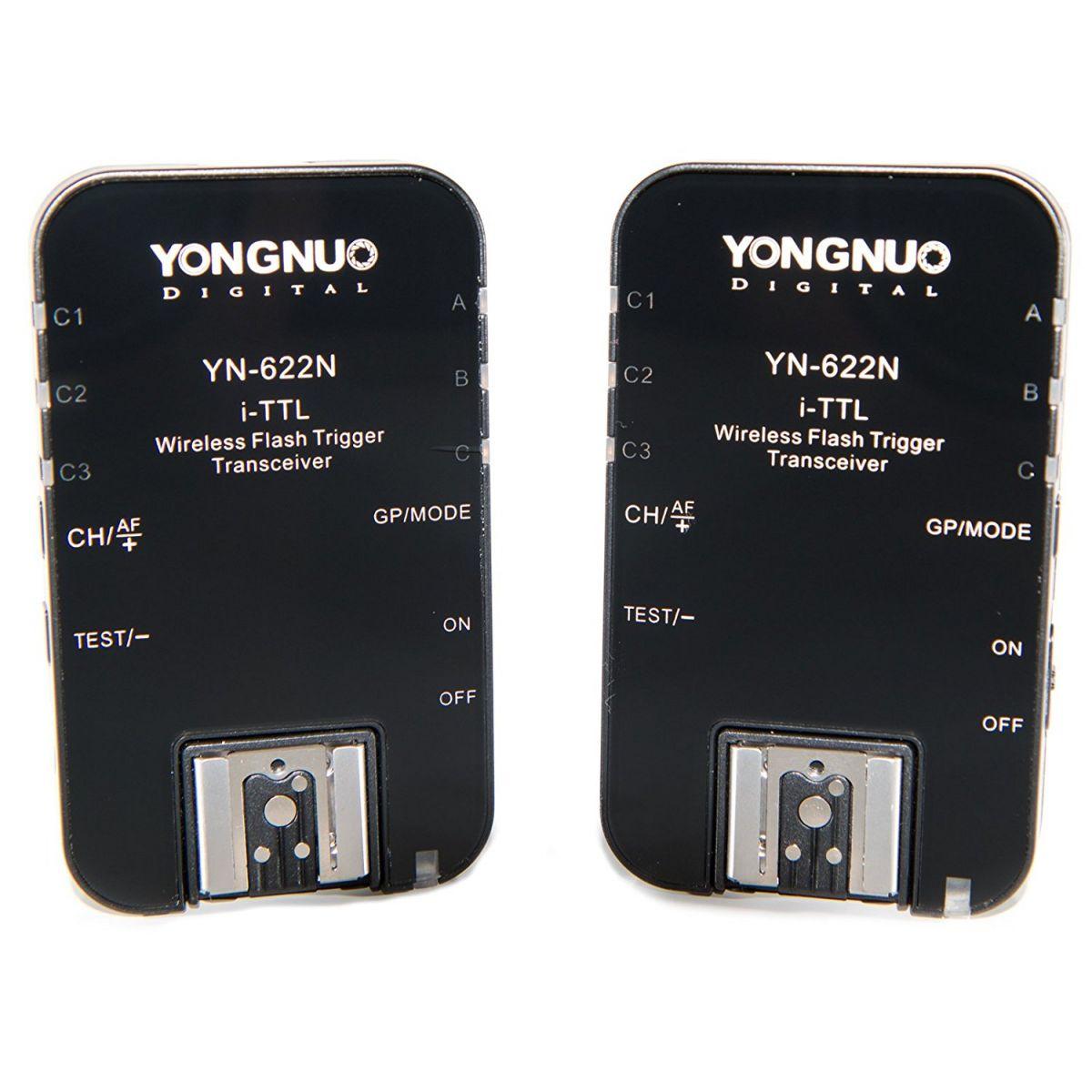 Radio Flash Sem Fio Yongnuo Yn-622n Para Câmeras DSLR Nikon