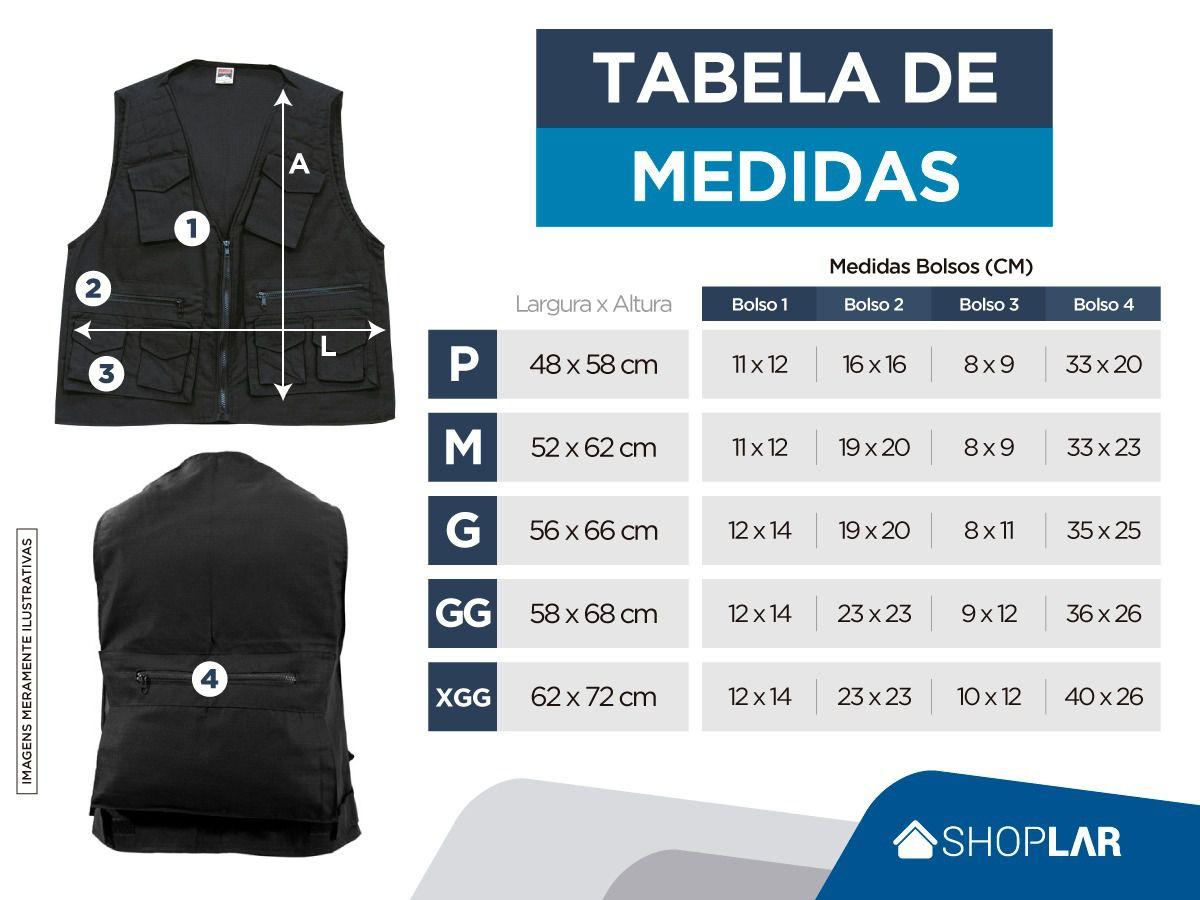 COLETE DE PESCA CAÇA PAITBALL CAMUFLADO PADRÃO EB RIPSTOP