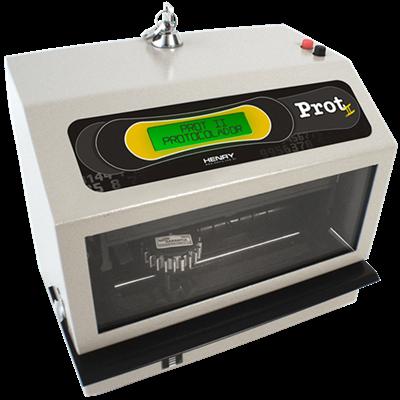 Prot 2. Relógio Protocolador Eletrônico