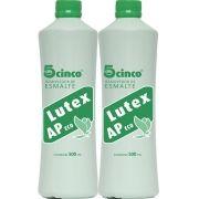 2 Removedor De Esmaltes 5cinco Lutex Acetona 500ml