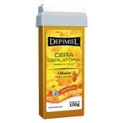 Cera Depilatória Depimiel Roll-on 100g Clássica Mel